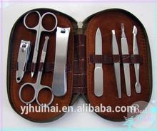 8pcs professional manicure&predicure set/8pcs electrical manicure pedicure sets/suitcase manicure pedicure sets