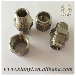 precision ss 304/316 stainless steel pipe joint components