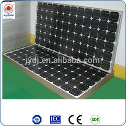 high efficiency solar monocrystalline/polycrystalline panel with frame and MC4 connector