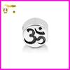Sterling Silver Yoga Om Symbol Bead Charm