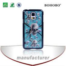 Cheap mobile phone case,skull 3d mobile phone cases for Samsung S5