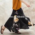 jiqiuguer original da marca estampado floral maxi longo plissado saia linda e elegante