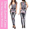 las mujeres 2014 venta al por mayor ropa turquía nuevo estilo de látex de spiderman catsuit de vestuario