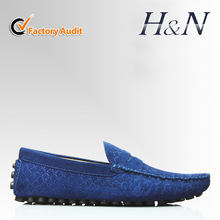 Manufacturer suede loafers for men