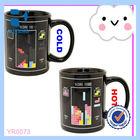 2014 HOT SALE!!!Sublimation Color Changing Magic Mug/ Sublimation color changing mug