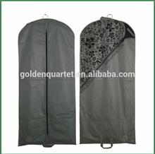 Promotion non-woven suit cover / travel suit cover bag