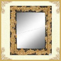 Best sale orange framed mirror for bedroom