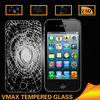 Fashion Design 9H Hardness Color tempered glass screen protector for iPhone 4 4s Welcome OEM
