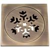 Weldon brass siphon kitchen floor drain