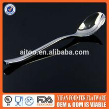ice tea and cream spoon, ceramic handle ice spoons.