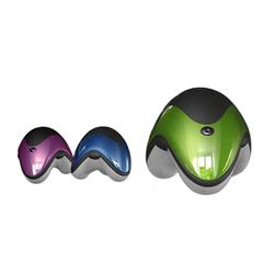 3AAA Batteries Led Light UFO Shape Small Handheld Vibrator Body Personal Massager