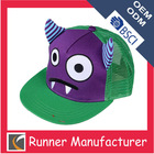 Custom 5 panels crazy hats for kids