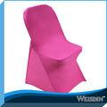 vente chaude chers lycra spandex couverture de chaise pour chaise pliante dans le mariage et restaurant