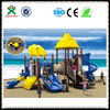 2014 the best sell and eco-friendly playground equipment for schools /used playground slide/play ground QX-004B