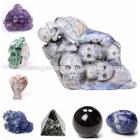 bulk wholesale crystal skull, pendant, angel, buddha, pendulum carved stone gift