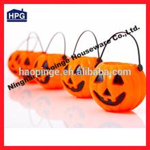 halloween Plastic Pumpkin / bats/skull buckets