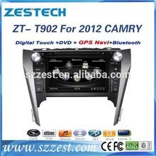 ZESTECH bluetooth,radio,tv, 8'' gps navigation car dvd gps for Toyota Camry 2012