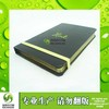 pu leather notebook custom printing customer's logo gray pu cover note book with pen shenzhen wholesale price