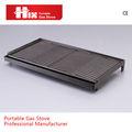 comerciais de alta qualidade em ferro fundido pan grill com alça removível