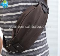 canvas custom waist pack fanny pack water bottle waist pack