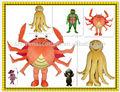 De lujo de niza de los animales del mar disfraces/los animales del mar de disfraces para adultos