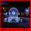 2014 outdoor 3D ball garden decorative tree light