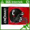 Hot Product 3*5ft Cincinnati Bearcats Football Flag wholesale team logo design with sport flag