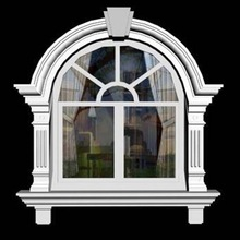 AAA quality Grey Granite Window Frame from factory