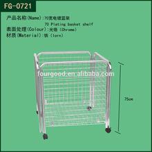 Hot sale factory direct sale wholesale metal baskets,metal basket used in supermarket,sportsroom or used at home