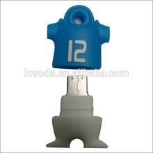 Custom soccer fans jersey world cup 2014 usb flash drive 64gb, usb pen drive 512gb ,usb stick 500gb LFWC-08