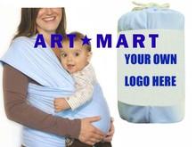 2015 Best Selling Light Blue Feeding Baby Wrap Nursing Wrap Carrier For Newborn Baby