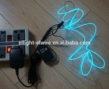 High brightness & Good quality Glow blue-green EL Wire (set)