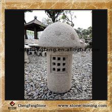 natural granite stone lamp/japanese pagoda garden