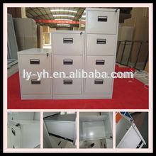 Metal file cabinet drawer