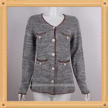 donna abbigliamento autunno cappotto a maglia
