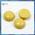 9ミリメートル黄色の半貴石カボションターコイズカボションのための卸売価格