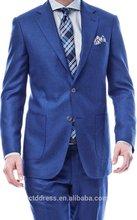 2015 nova chegada de primeira classe de alta qualidade barato mens ternos com remendo pockets corpo