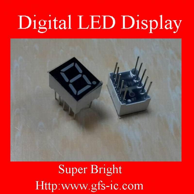 (0.28 Inch) Single digits 7 segment Digital LED DisplAy Red COMMON Cathode