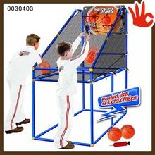 Chine wholesale kids basketball game machine portable basketball stand set basketball stand set