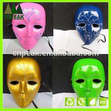Halloween party mask,carnival mask,pvc mask handmade halloween face mask Masquerade Halloween Karneval Gold lace Glitter mask
