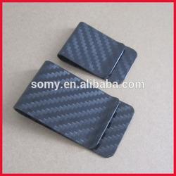 carbon fibre money clip zhong shan manufacturer