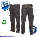 multifuncional baratos al por mayor de carga holgados pantalones vaqueros pantalones