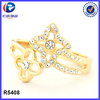 Trendy micro pave rings jewelry import china goods