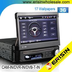 "Erisin ES7088G 7"" 1 Din Car Audio DVD GPS Navigation System"
