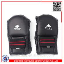 Martial arts training equipment fingerless bag fight gloves