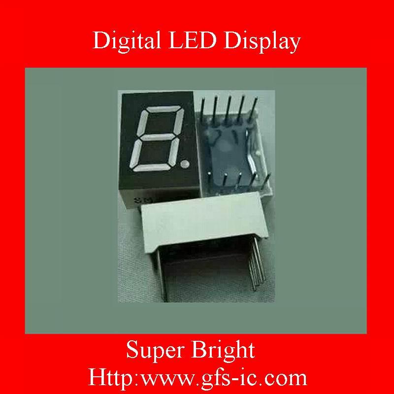 (0.28 Inch) Single digits 7 segment Digital LED Display Olivine COMMON Anode