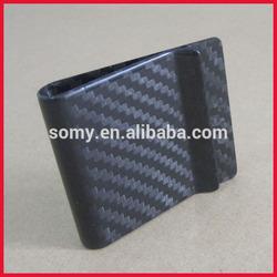 popular carbon fibre money clip