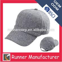 Blank wool sport cap type for winter