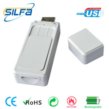 Silfa new invented with 2-32GB flash rechargeable USB butane lighter gas