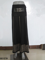 Islam Long Skirt with Belt for African